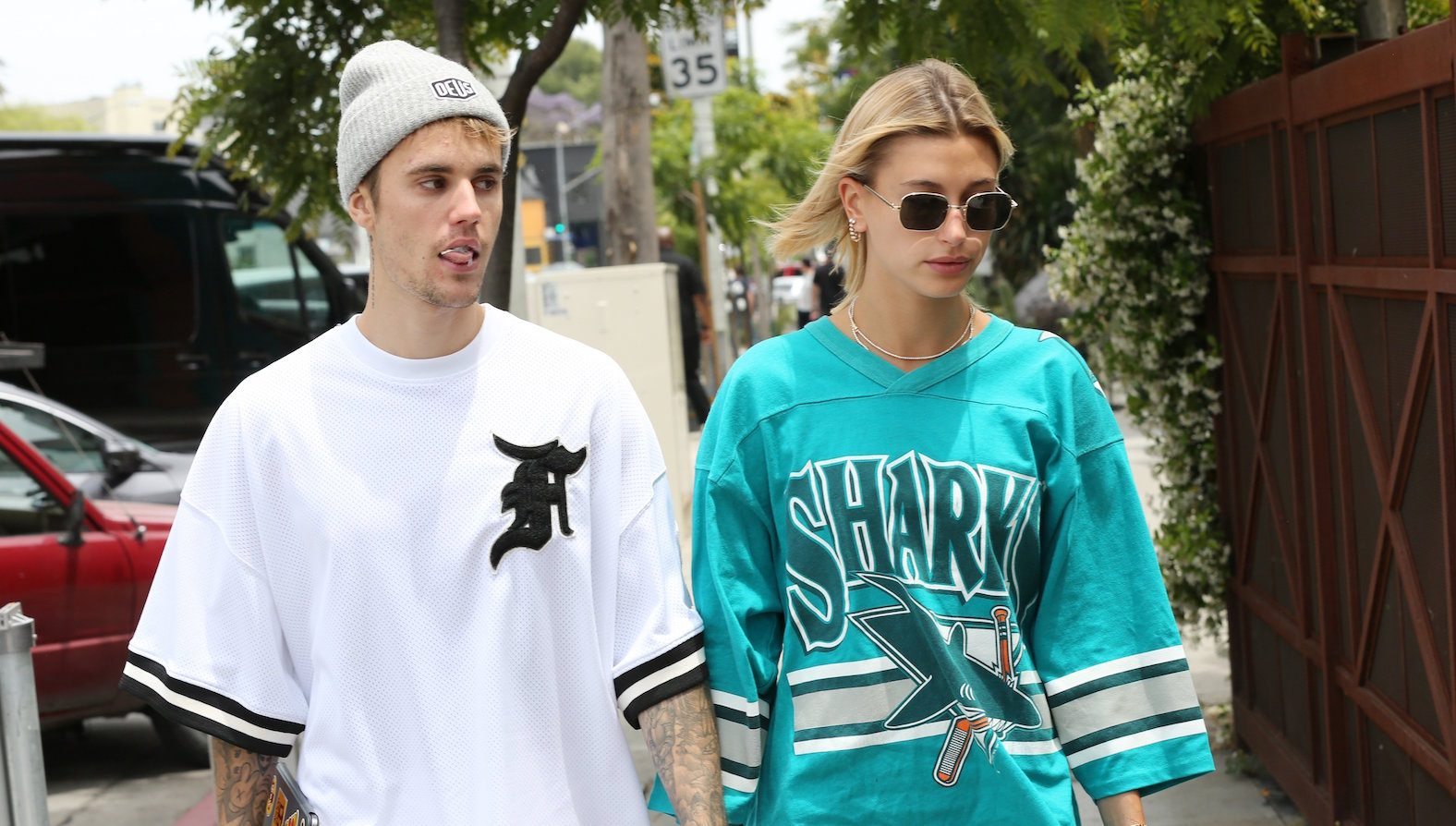 Justin Bieber and Hailey Baldwin Hold Hands While Out in L.A.