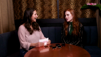 Madelaine Petsch Wearing a Green Outfit