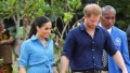 Meghan Markle Wearing Blue