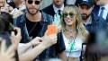 Miley Cyrus Liam Hemsworth Mandarin Hotel