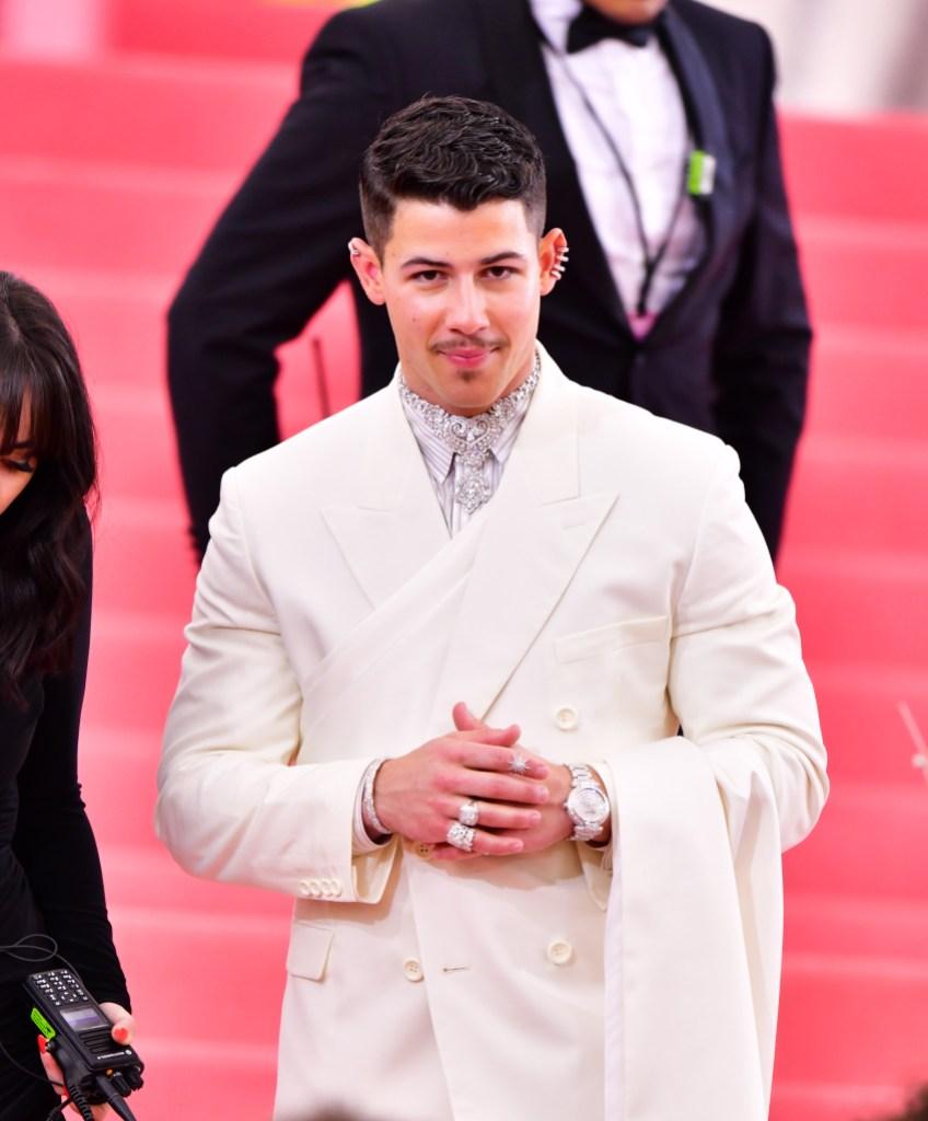 Nick Jonas, Met Gala 2019