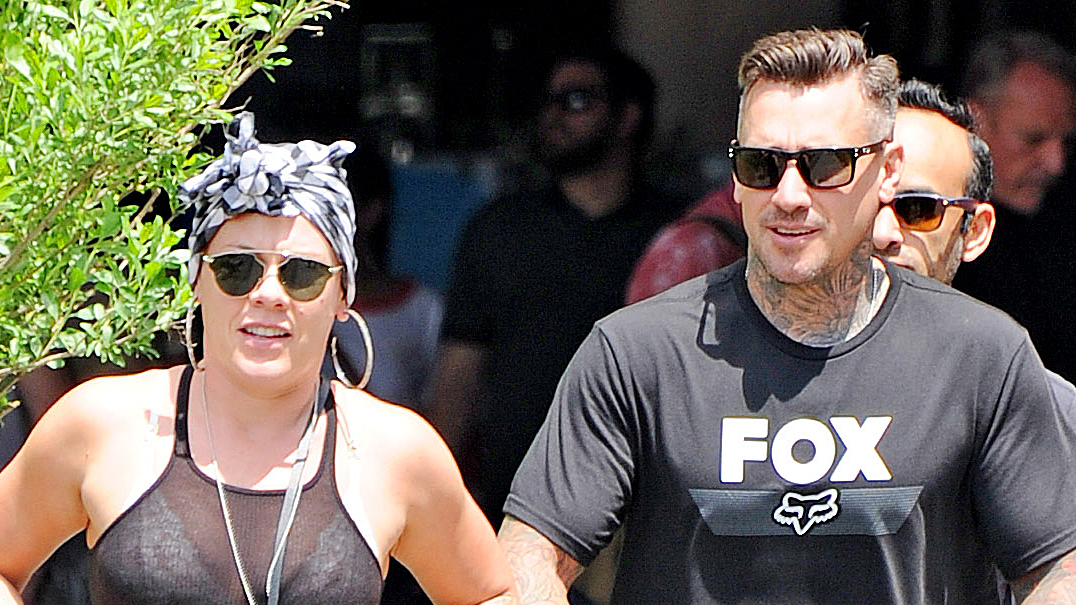 Pink and Carey Hart Spend a Sunny Day in NYC With Son Jameson — See Pics!