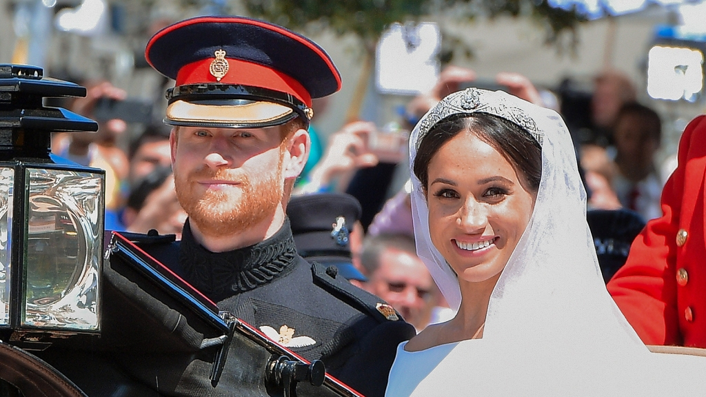 Meghan Markle and Prince Harry Celebrate First Wedding Anniversary