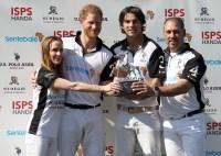 Prince Harry Sentebale ISPS Handa Polo Cup Italy