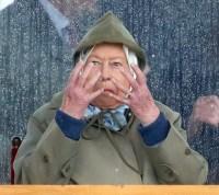 Queen Elizabeth at the royal windsor horse show