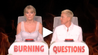 Taylor Swift Ellen DeGeneres joe jonas interview burning questions