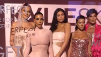 Khloe Kardashian Kim Kardashian Kylie Jenner Kourtney Kardashian Kris Jenner KylieSkin launch party