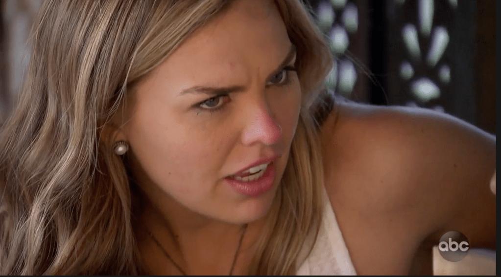 Hannah Brown on The Bachelorette