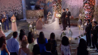 Krystal Nielson and Chris Randone Wedding Bachelor in Paradise wide shot