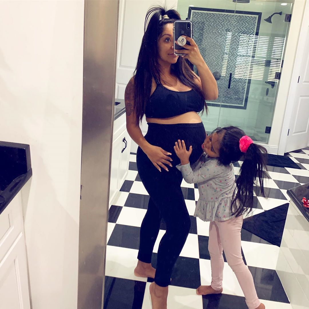 26d4356331 Nicole 'Snooki' Polizzi Gives Birth to Baby Boy Angelo: See Announcement