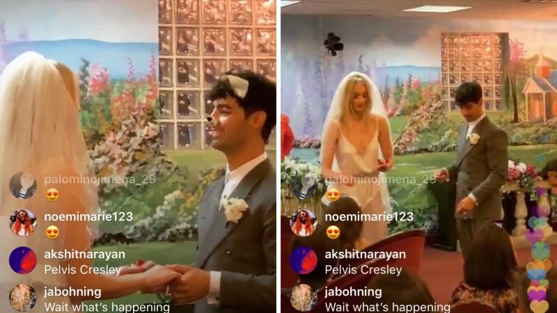 Sophie Turner and Joe Jonas Wedding: See Diplo's Instagram Live