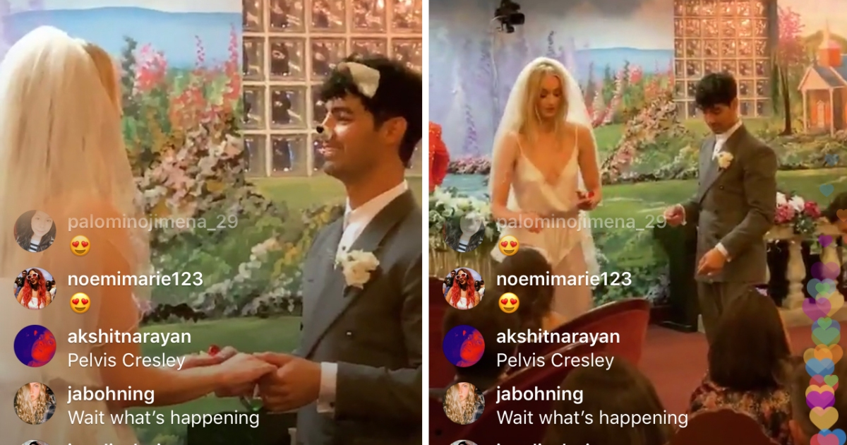Diplo Instagram >> Sophie Turner And Joe Jonas Wedding See Diplo S Instagram Live