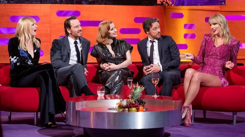 Joe Jonas' Wife Sophie Turner Hangs With His Ex Taylor Swift on 'The Graham Norton Show!'