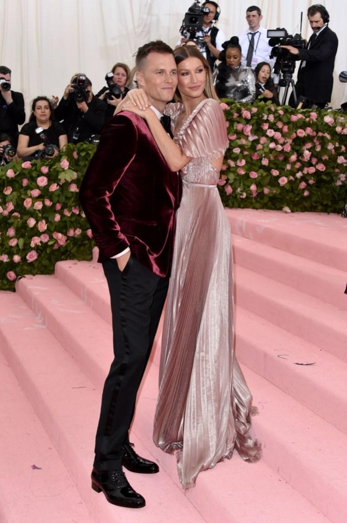 Tom Brady, Gisele Bundchen, 2019 Met Gala