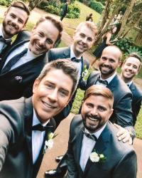 Arie Luyendyk Chris Harrison wedding
