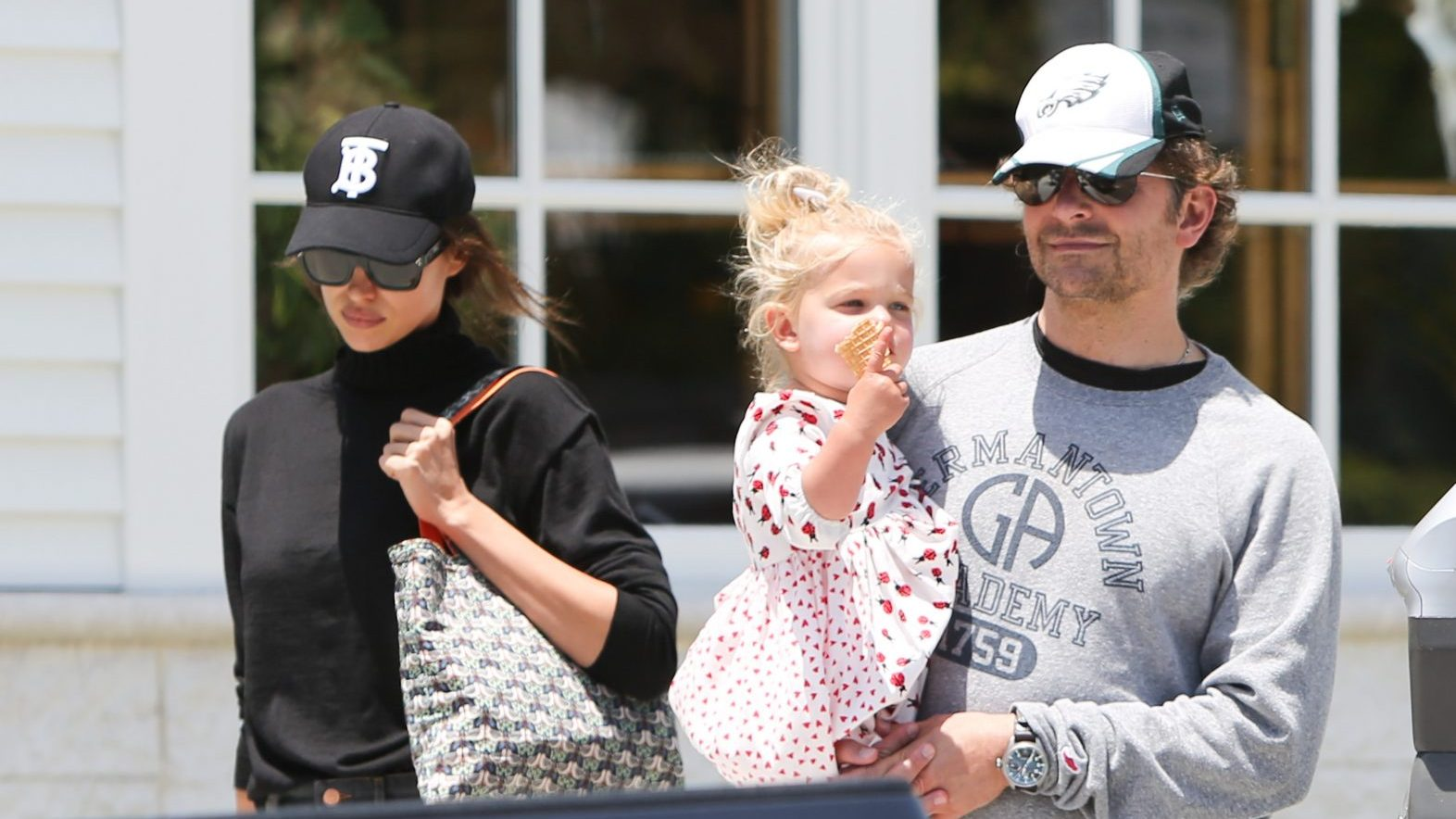 Bradley Cooper Spotted With Irina Shayk and Daughter Lea in L.A.