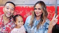 Chrissy Teigen John Legend Luna Legend has chrissy's personality family kids snl