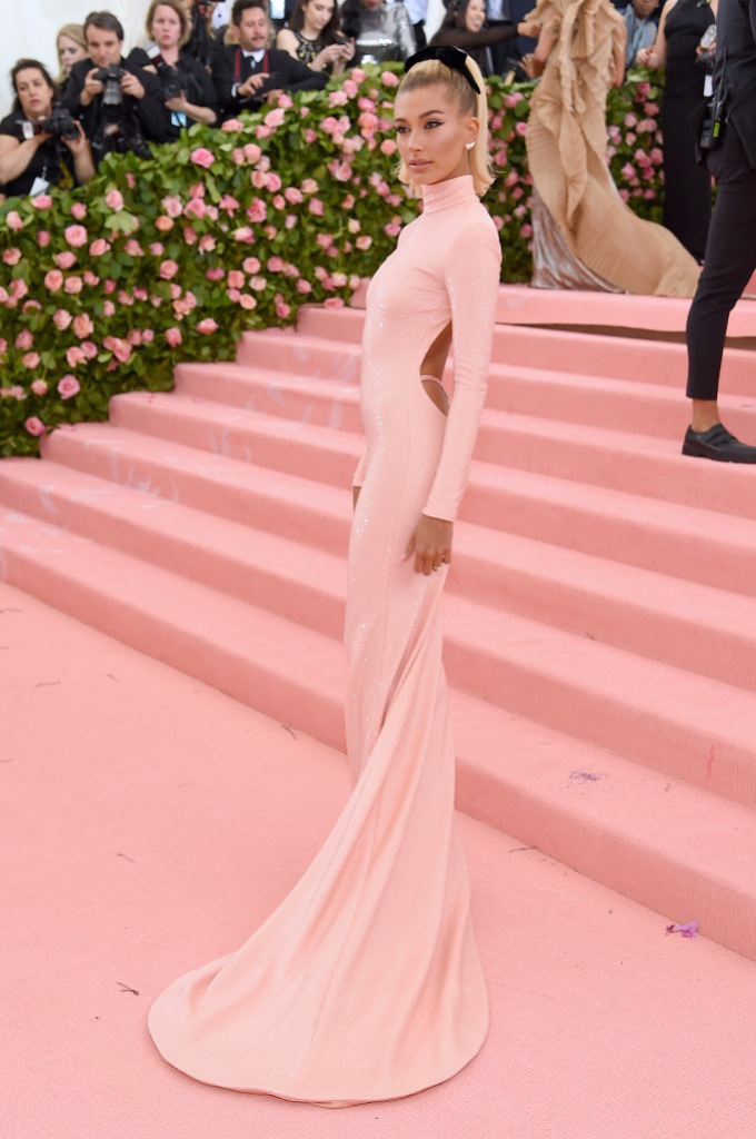 Image result for hailey baldwin met gala