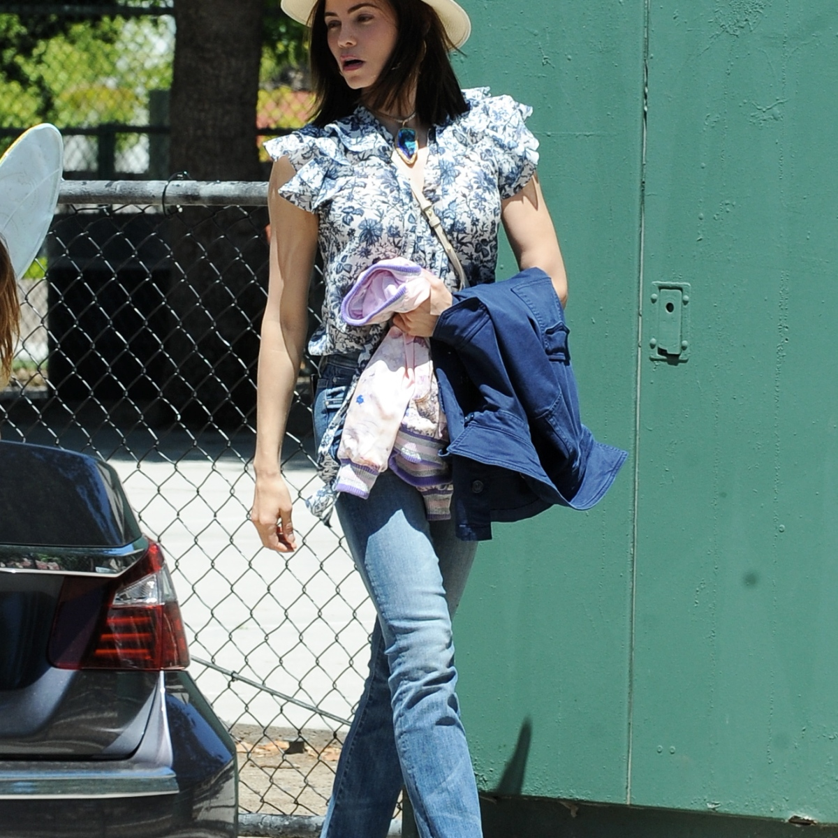 Cute Costume! Jenna Dewan's Daughter Everly is a Little Fairy While Out and About in L.A.
