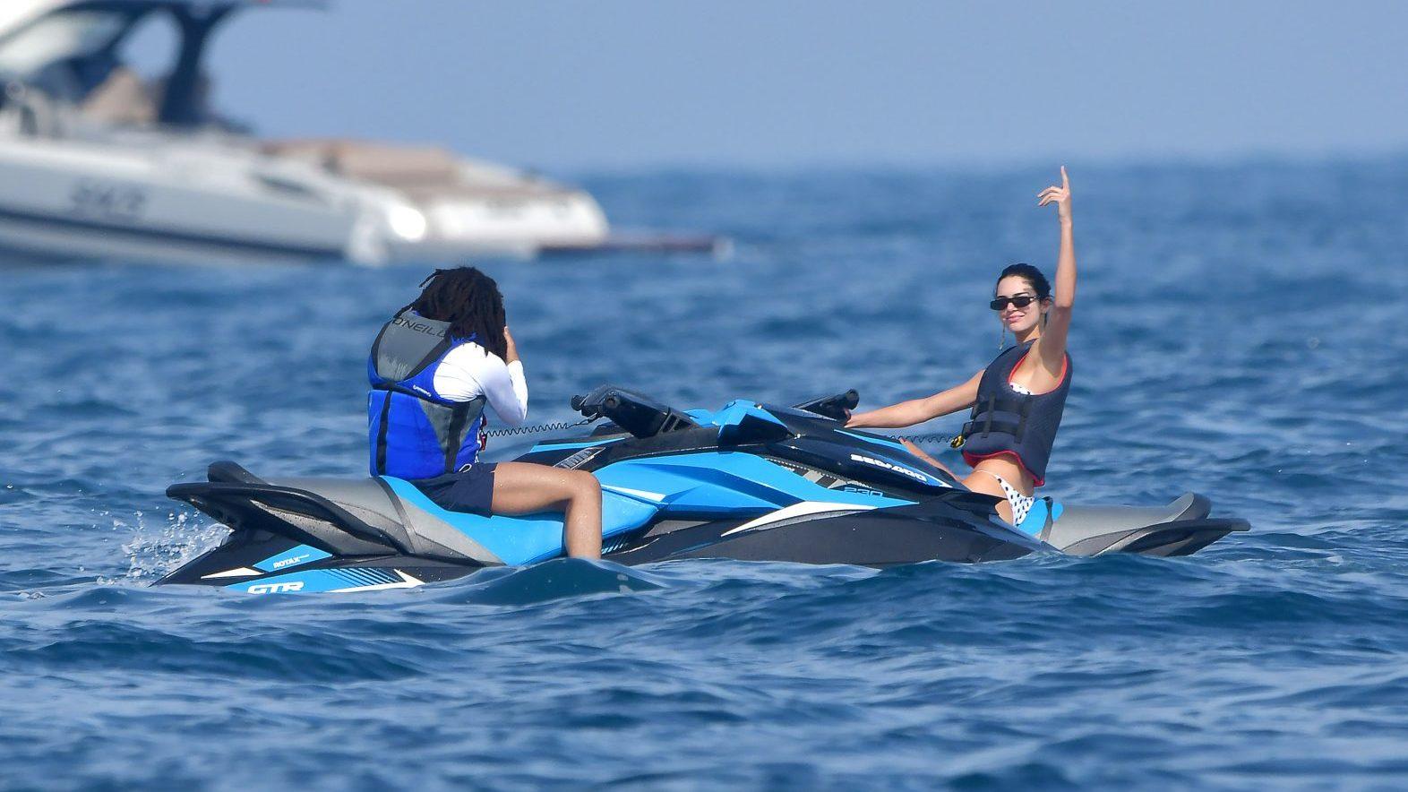 Kendall Jenner Rides Jetskis With Luka Sabbat in Monaco Post-Ben Simmons Split