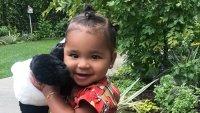 True Thompson burberry dress hair up khloe kardashian instagram tristan thompson kuwtk daughter