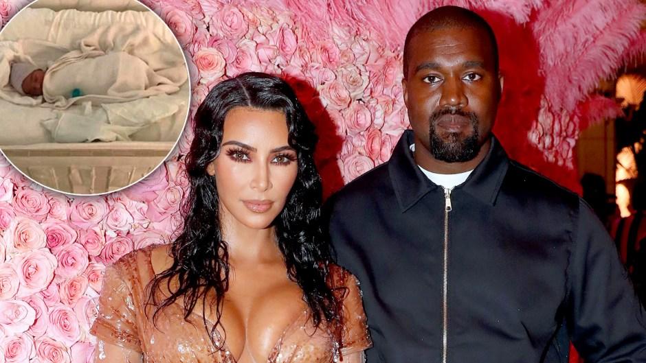 Kim Kardashian Kanye West Psalm Name Reveal