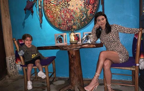 Reign Disick Tells Mama Kourtney Kardashian He's 'Magical' and We Totally Agree