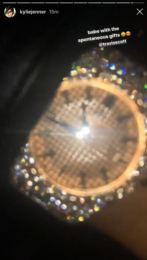 kylie-jenner-travis-scott-diamond-watch