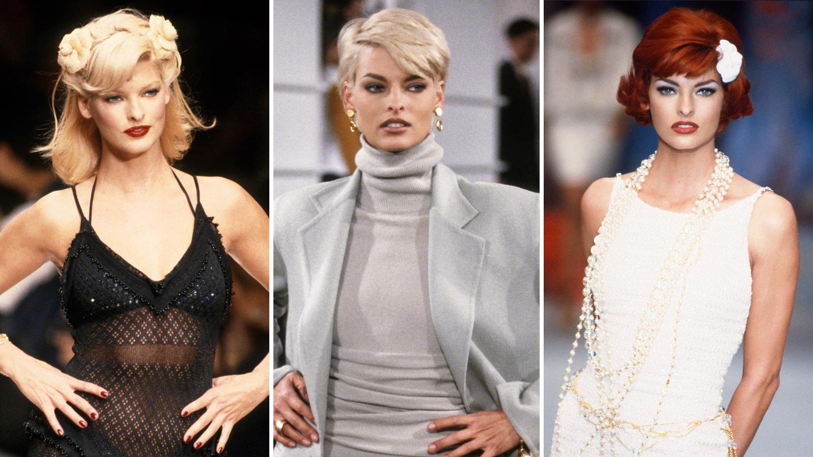 Linda Evangelista Best Looks: Her Top 20 Style Moments Ever