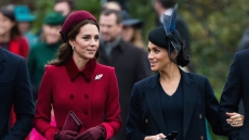 Kate middleon and Meghan Markle