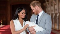 prince harry meghan markle royal baby archie harrison
