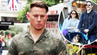 Channing Tatum Hit Hard Daughter Everly Spending Fathers Day With Jenna Dewans Boyfriend