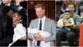 Side by side photos of Jay-Z, Prince Harry and Chris Pratt