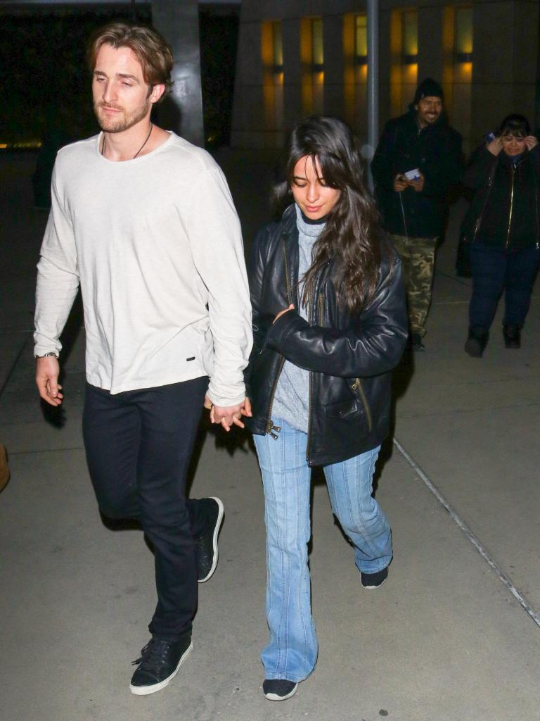 Camila Cabello and Matthew Hussey Hold Hands While Walking