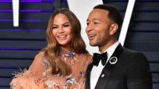 Chrissy Teigen John Legend instant chemistry marriage relationship dating vanity fair oscars party