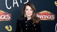 Lisa Vanderpump Smiles in Black Velvet Jacket and Pink Lipstick Responds to Mother's Death