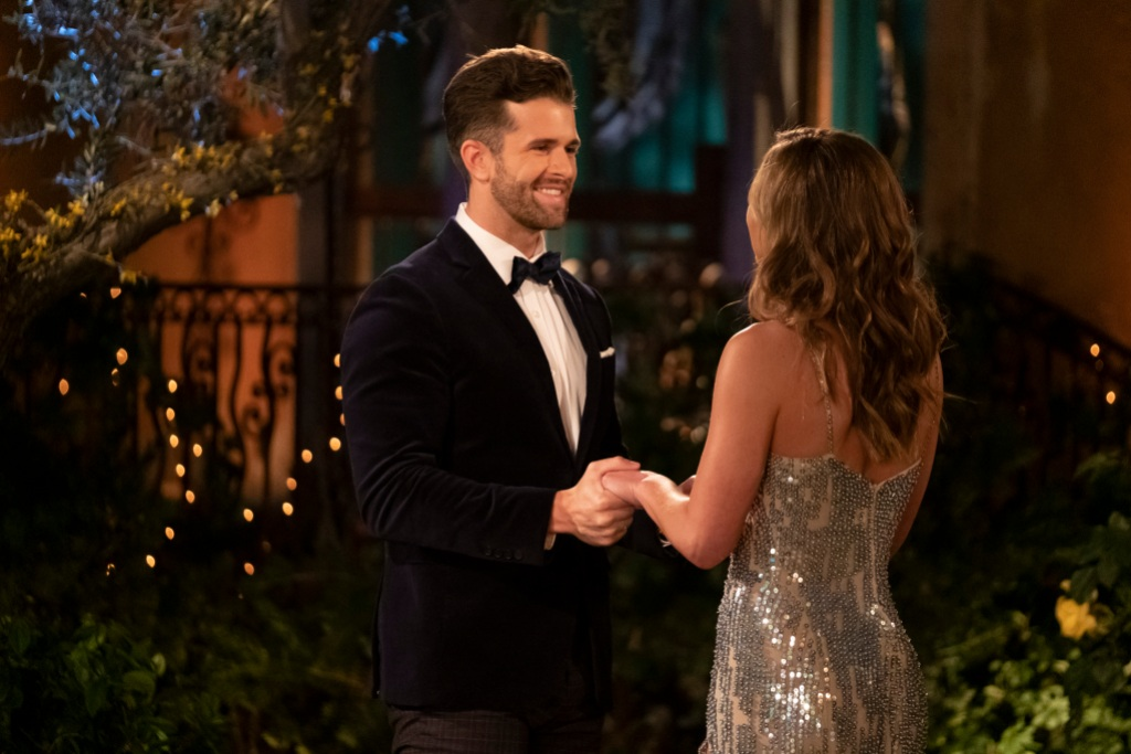 Bachelorette Hannah Brown and Jed Wyatt Meet Each Other on Night 1