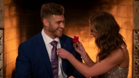 Bachelorette Hannah Brown Gives Luke Parker the First Impression Rose