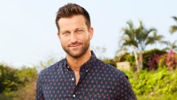 CHRIS BUKOWSKI Stands Smiling for Bachelor in Paradise Headshot