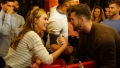 Bachelorette Hannah Brown and Jed Wyatt Arm Wrestling Dating Drama With Haley Stevens
