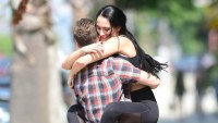 Nikki Bella Hugs Artem Chigvintsev While She Wraps Her Legs ARound Him