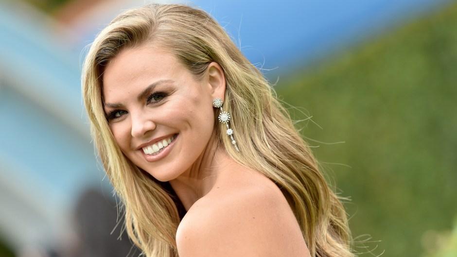 Hannah Brown bachelorette schedule nba finals bachelorette hannah brown wavy hair danging earrings natural makeup