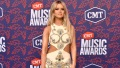 Maren Morris topless playboy shoot backlash white cut out dress cmt awards