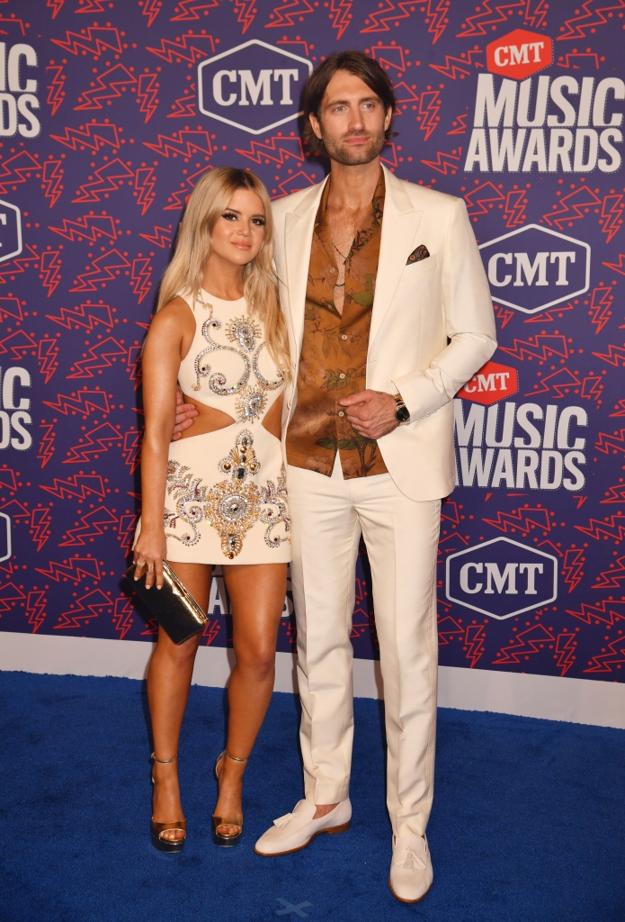 Maren Morris Ryan Hurd marriage relationship red carpet pics