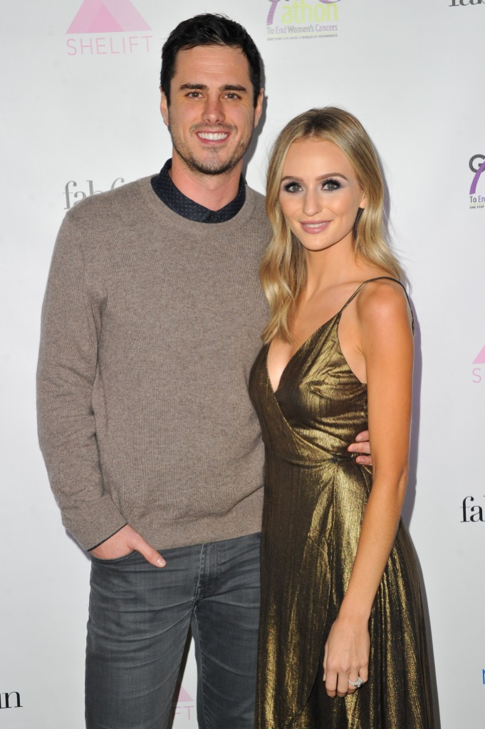 Lauren Bushnell Stands Arm in Arm With Ex Fiance Ben Higgins From the Bachelore