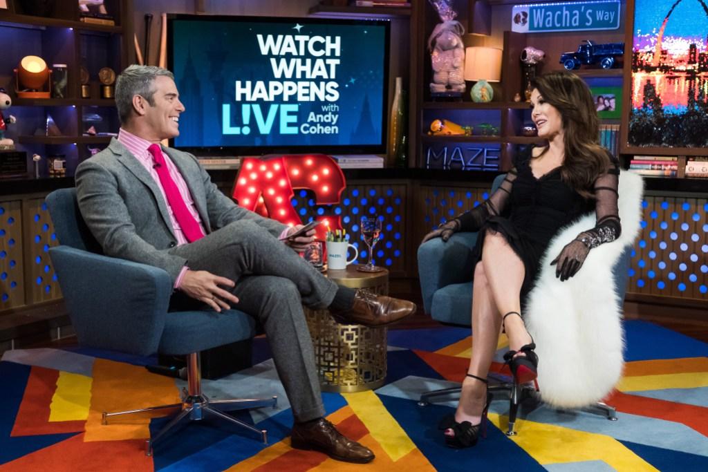 Lisa Vanderpump Andy Cohen