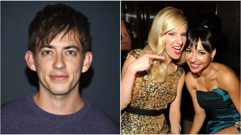 'Glee' Alum Kevin McHale Gushes About Heather Morris and Naya Rivera as Moms: 'They're Both So Good'