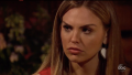 Bachelorette Hannah Brown Looks Angry in a Red Dress During a Date on Week 6