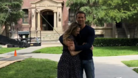 Ryan Reynolds and Blake Lively Hug in Sweet Instagram Picture While on 'Free Guy' Set