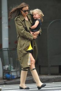 Irina Shayk and daughter Lea